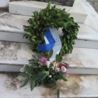 Ligopsa Monument Wreath.JPG