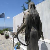 Ligiades Martyr Monument Freestanding Bronze Back.JPG