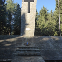 Konitsa Military Mausoleum Altar.JPG